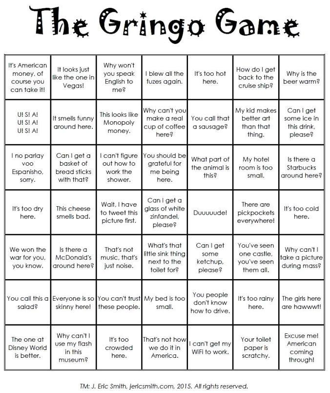 Gringo Game