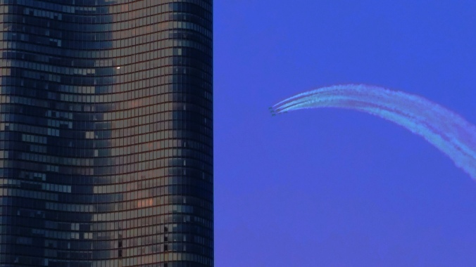 Blue Angels and Lake Shore Tower