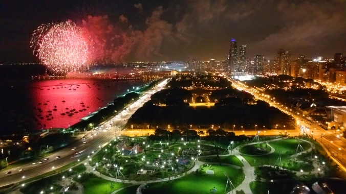 Fireworks Over Northerly Island