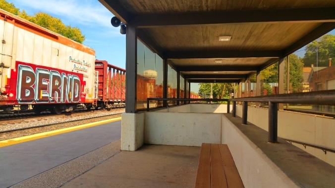 Freight Train Through Naperville